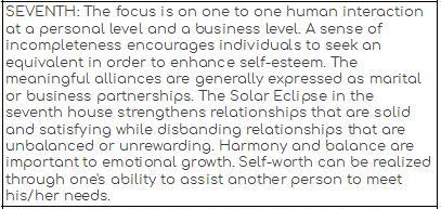 Eclipses - Astrological Counsel & Astro-Type Style