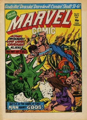 Marvel Comic #337, Skull the Slayer