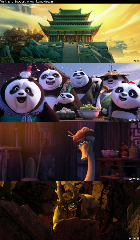 Kung Fu Panda 3 (2016) Dual Audio Hindi 720p WEB-DL 800mb