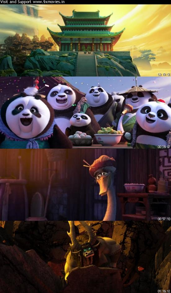Kung Fu Panda 3 (2016) Dual Audio Hindi 720p WEB-DL 800mb