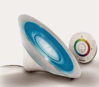 Philips Livingcolors Aura White Led Myliving Table Lamp