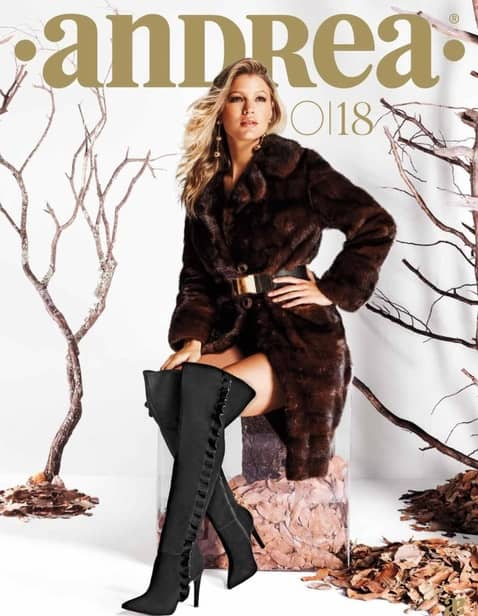 Catalogo calzado andrea damas otoño invierno 2018