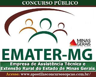Apostila Emater Minas Gerais Assistente Administrativo II
