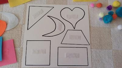 rozróżnianie kształtów przez dzieci, rozpoznawanie kolorów przez dzieci