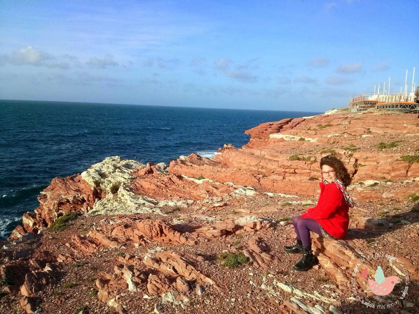 Lo splendido pomeriggio di scirocco e d'azzurro a Calarossa di Terrasini - Sicily