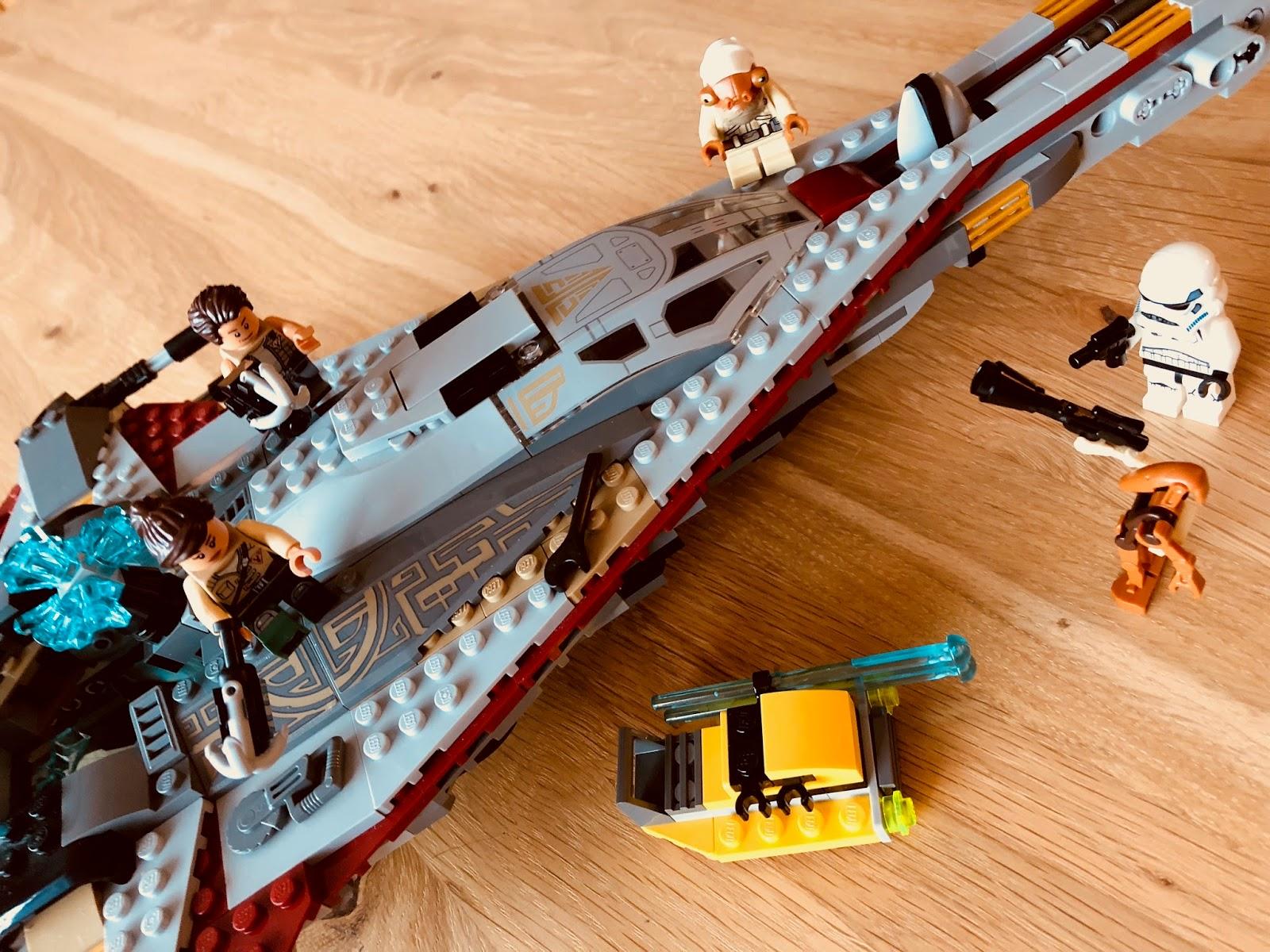 Brickwolfcampus Lego 75186 Star Wars The Arrowhead Starwars