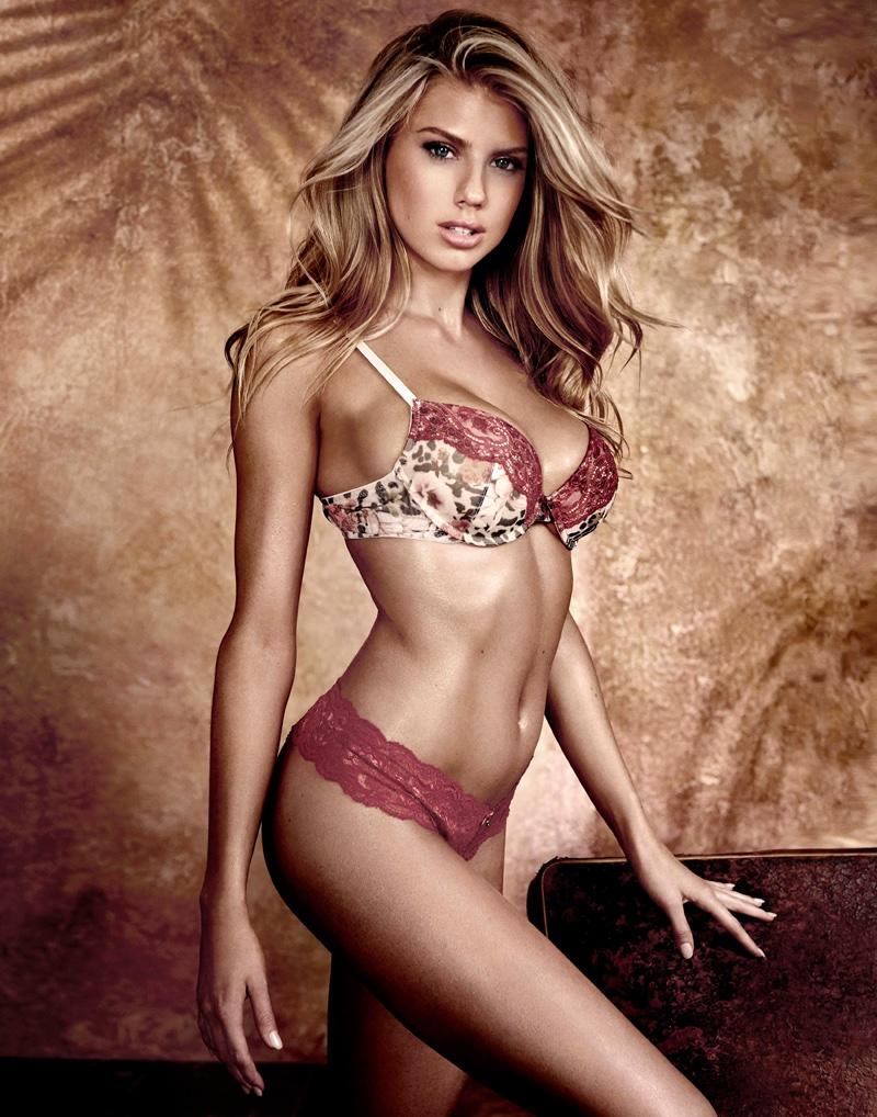 Charlotte McKinney stars in Guess Underwear advertising campaign