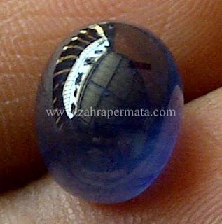 Batu Permata Blue Saphire - ZP 642