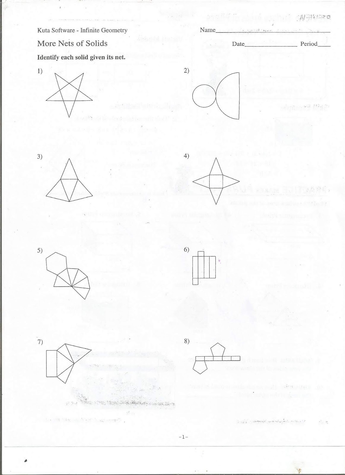 Geometry Common Core Style Sbac Practice Test Questions