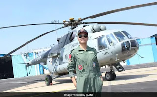 Flight Lieutenant Hina Jaiswal becomes the First Woman Flight Engineer of IAF