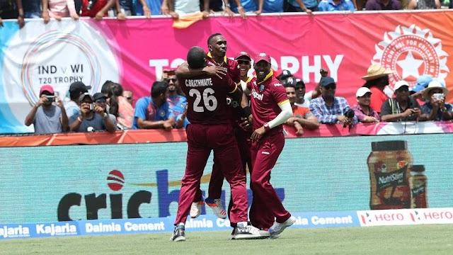 वेस्ट इंडीज़ ने रोमांचक मुकाबले में भारत को 1 रन से हराया