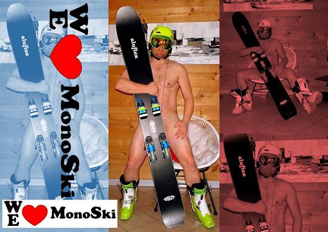 calendrier nue monoski playmate nu we love monoski