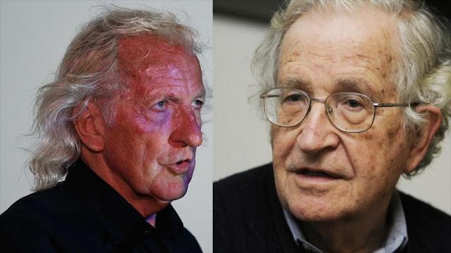 Chomsky y Pilger denuncian amenazas de Trump a Venezuela