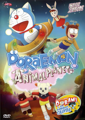 Sinopsis film Doraemon: Nobita and the Animal Planet (1990)