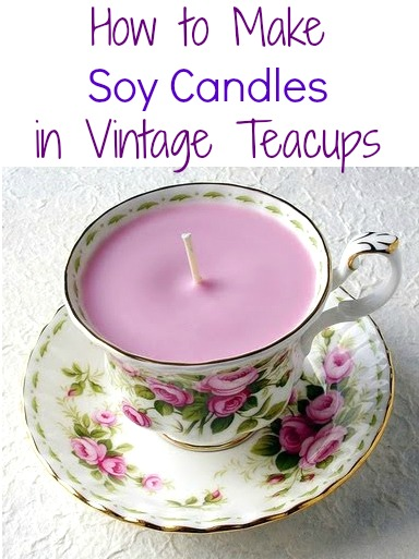 Tutorials: How to Make Soy Candles, 5 DIY Projects | Handy & Homemade