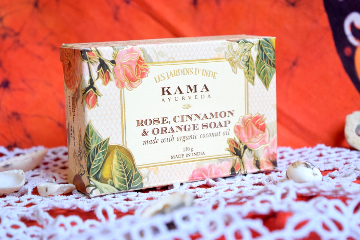 Kama Ayurveda Rose,Cinnamon & Orange Soap