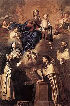 Our Lady of Carmel by Pietro Novelli, 1641