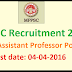 MPPSC Recruitment 2016 - Apply online for 2371 Assistant Professor Posts www.mppscdemo.in