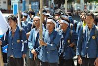 Puluhan Aktivis AMPI Gelar Aksi Bela Sungkawa dan Do'a Bersama Atas Carut Marutnya Bangsa