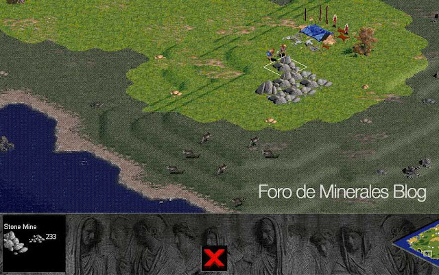 mina de piedra | stone mine Age of empires1