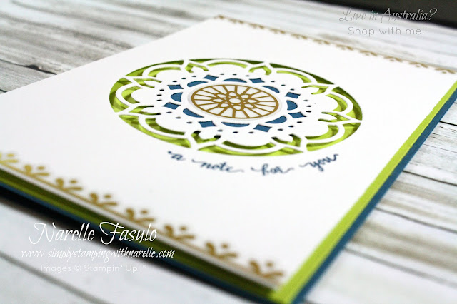Create eye catching cards like this with the Eastern Beauty stamp set - get  yours here - http://bit.ly/2xqbLdc
