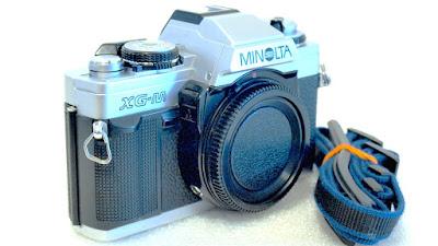 Minolta XG-M (Chrome) Body #989