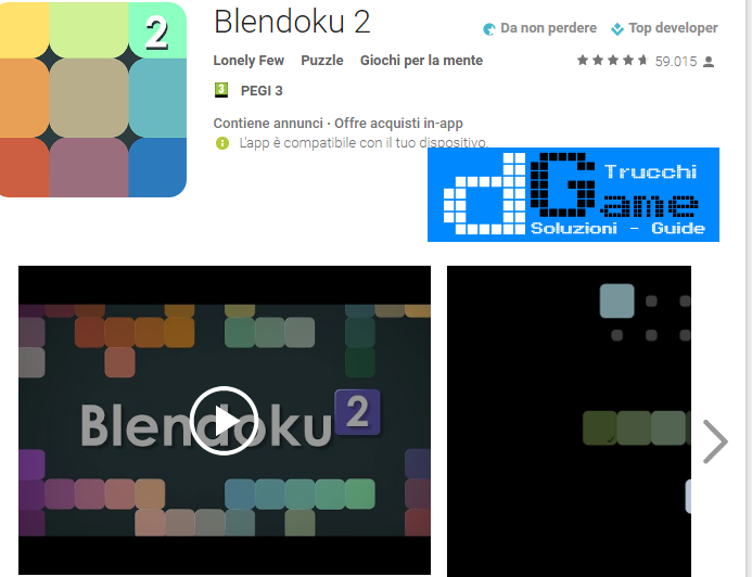 Soluzioni Blendoku 2 Hard  livello 51-52-53-54-55-56-57-58-59-60 | Trucchi e Walkthrough level