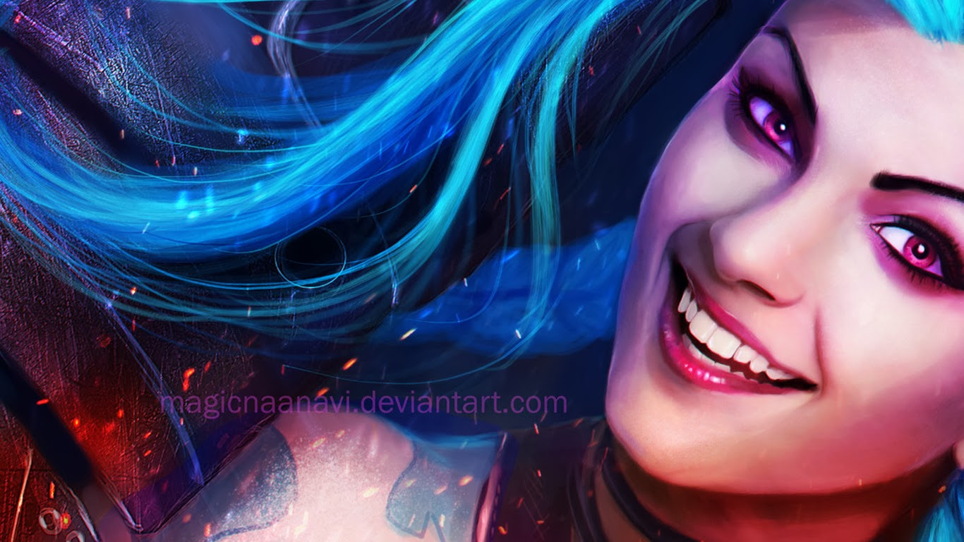 League Of Legends Wallpaper And Cover Photos Blog Jinx League Of