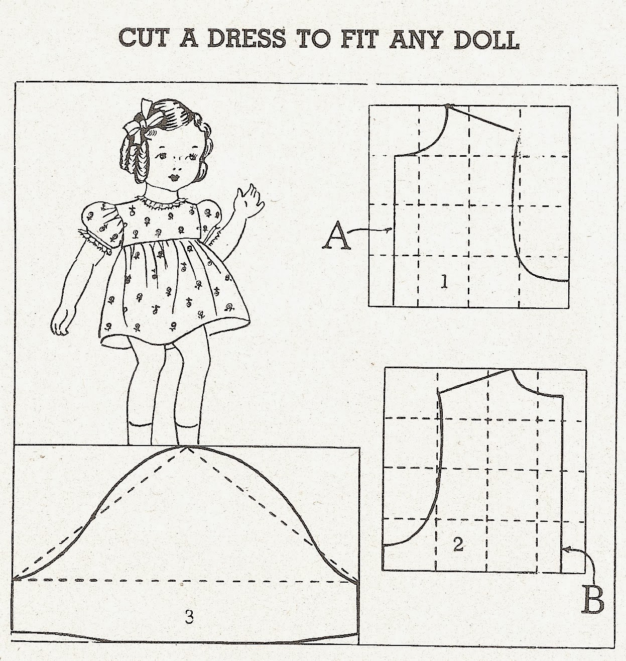Sentimental Baby: Doll Dress, Slip & Panties Patterns