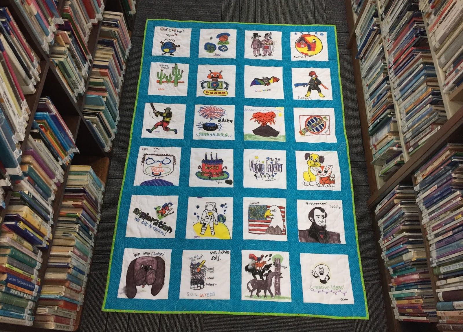Val's Quilting Studio: 2017 Classroom Quilt: Finished! : classroom quilt ideas - Adamdwight.com