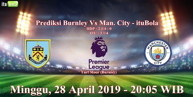 Prediksi Burnley Vs Man. City - ituBola