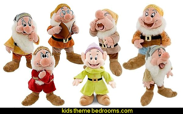 Seven Dwarfs Happy Plush Toys