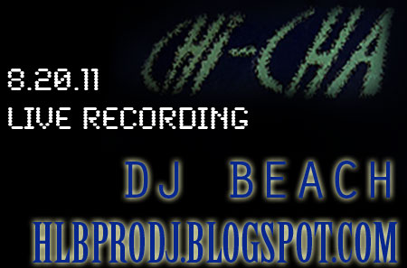 Dj Beach Washington Dc Music Selector Chicha Lounge 8 20 11