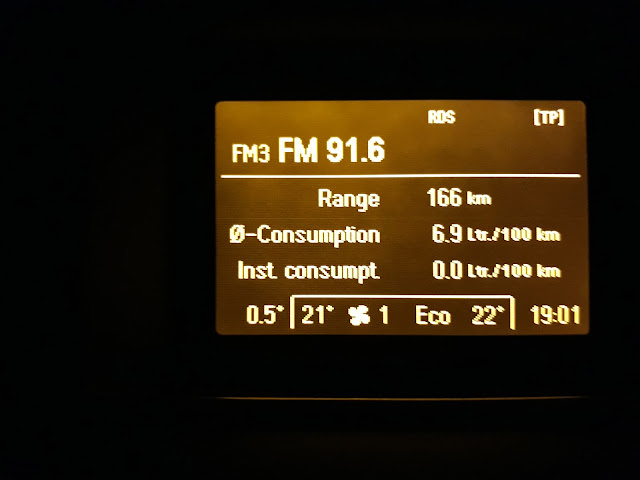 Vectra C fuel consumption