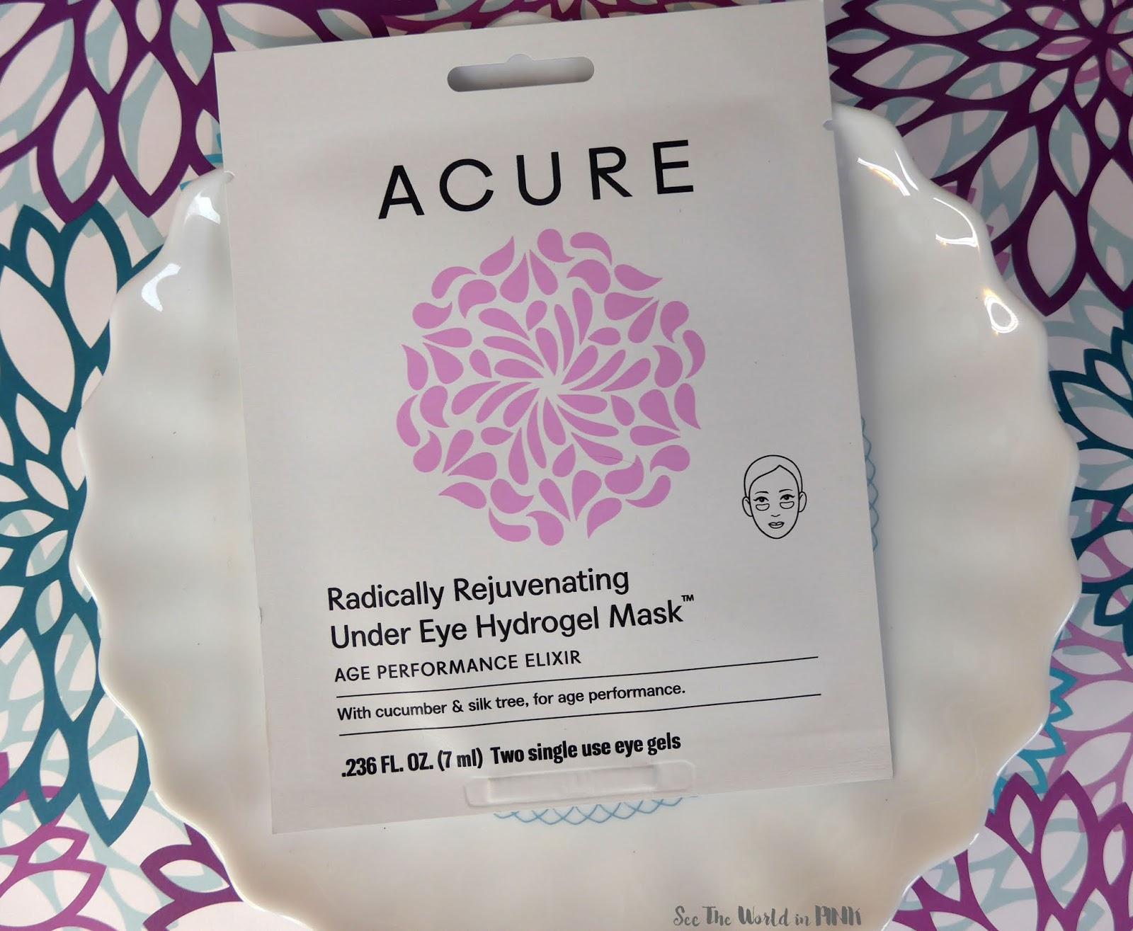 Acure Radically Rejuvenating Under Eye Hydrogels Mask