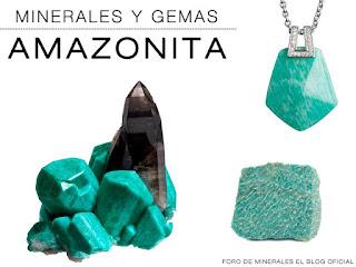 minerales y gemas amazonita propiedades | foro de minerales