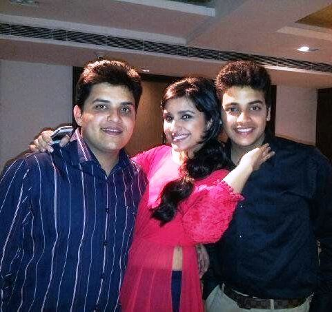 Parineeti with brotyhers