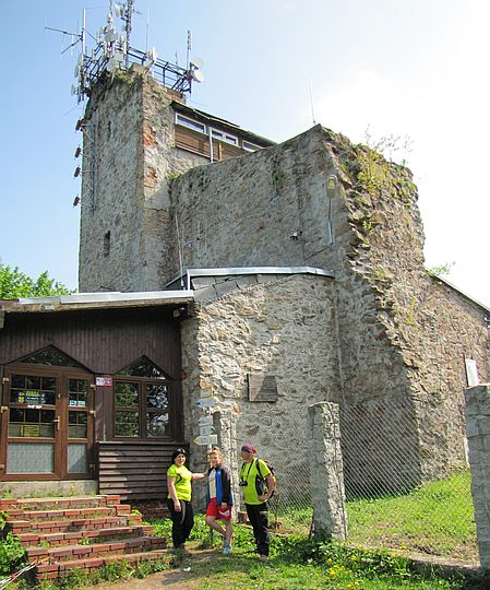 Chełmiec (851 m n.p.m.).