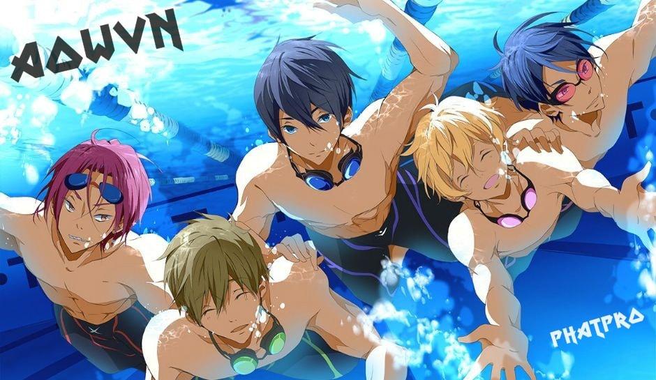Free%2521%2B %2BPhatpro%2B%25286%2529 min - [ Anime 3gp Mp4 ] Free! SS1 + SS2 + SP | Vietsub - Giải Nhiệt Cùng Bơi Lội - Cực Đã