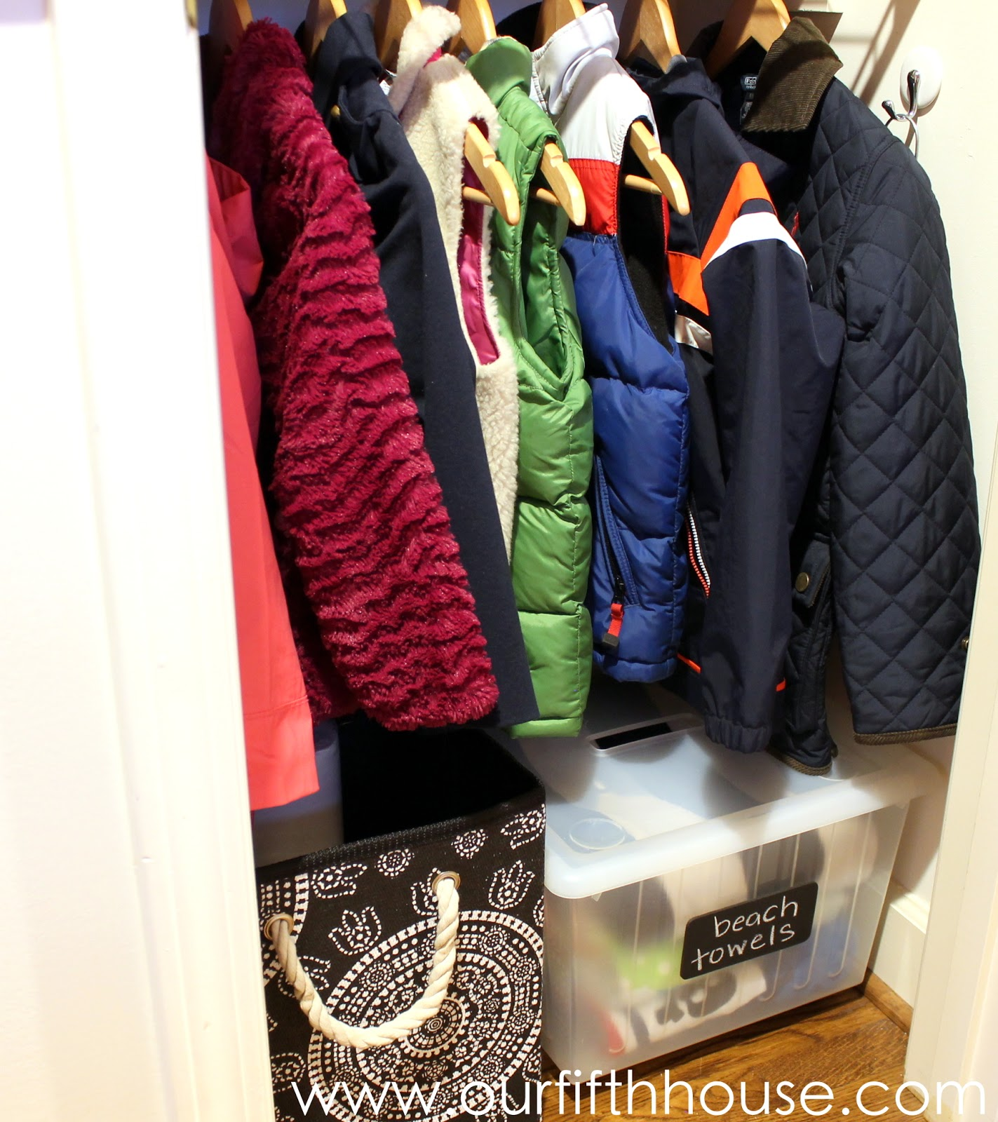 You May Remember, Even Though Itu0027s Been A While Since Iu0027ve Posted Anything  About It, That Iu0027m Planning To Turn The Basement Coat Closet Into A  Mini Mudroom ...