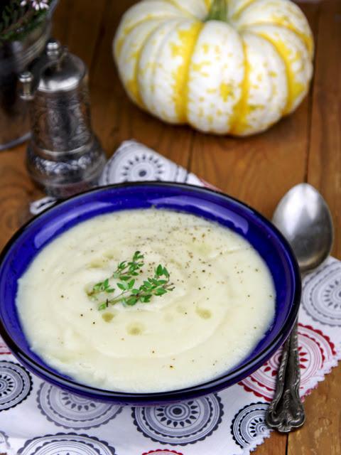 seler, krem z selera, krem selerowy, zupa z selera,