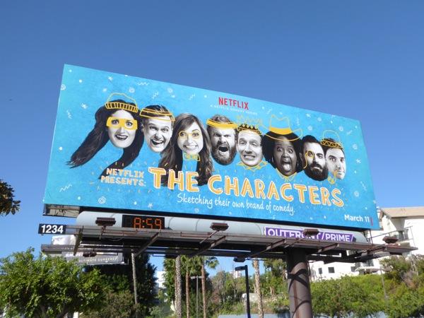 Characters series premiere billboard