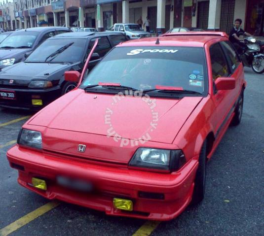 Motoring malaysia spotted for sale 1984 honda civic 1 6 for 1984 honda civic