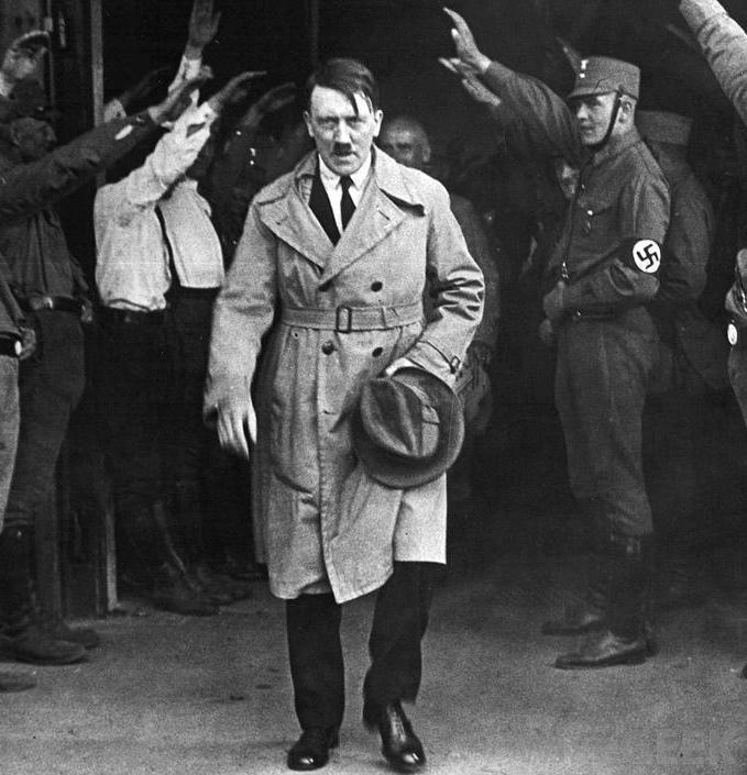 Adolf Hitler worldwartwodaily.filminspector.com