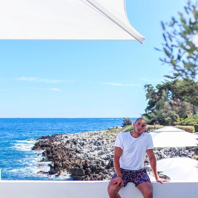 la cigale vista beach ristorante costa azzurra