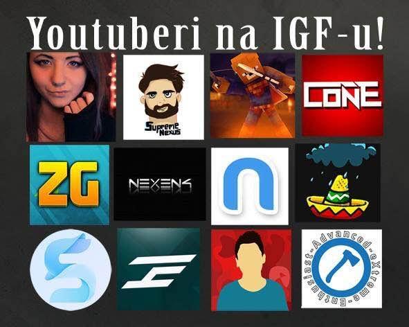 Youtuberi na IGF-u