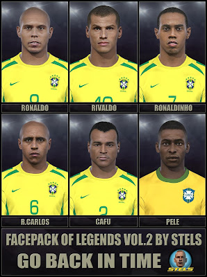 PES 2018 Facepack vol.2 by Stels