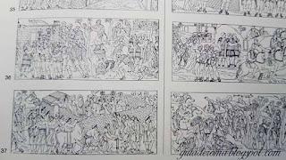 colonna traiana grafica arqueologia - A Coluna Traiana