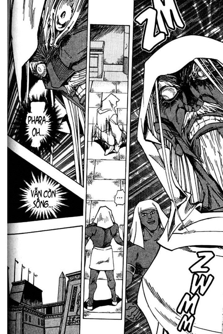 YUGI-OH! chap 312 - pharaoh đã được tìm thấy trang 10