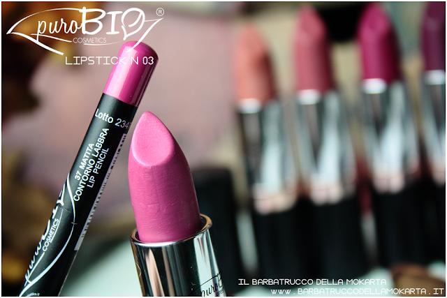 matita n 37,  lipstick n 03 ,  rossetti purobio , lipstick, vegan makeup, bio makeup